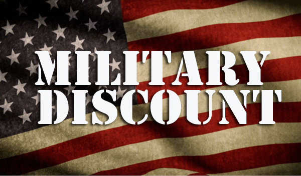 Military members, veterans and their family members can get a 25 percent discount on certain AT&T Unlimited wireless plans, beginning Oct. 5. AT&T previously offered a 15 percent discount.