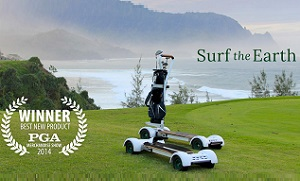 Rent a golfboard for your next round