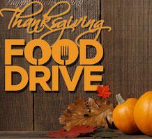 Thanksgiving Food Bank Drive