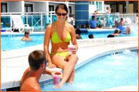 Hotel Blue Outdoor Whirlpool