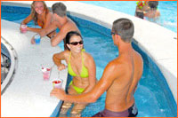 Hotel Blue Swim-Up Pool Bar