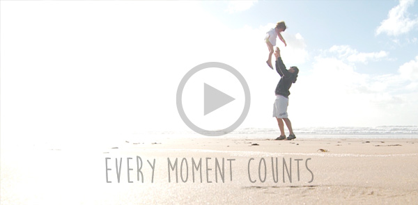 Every moment counts