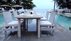 Intimate dining at SALA Samui