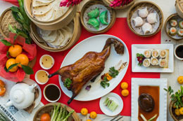 Ah Yat Abalone's special set menu