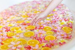 Orange Blossom spa treatment