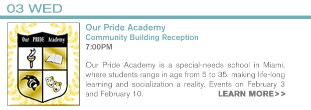 INFO - 2/3 Our Pride Academy Event