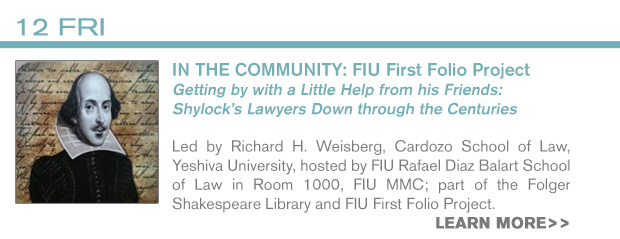 INFO: 2/12 FIU First Folio Project