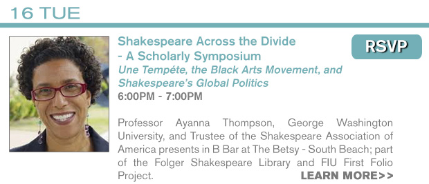 RSVP - 2/16 Shakespeare Symposium