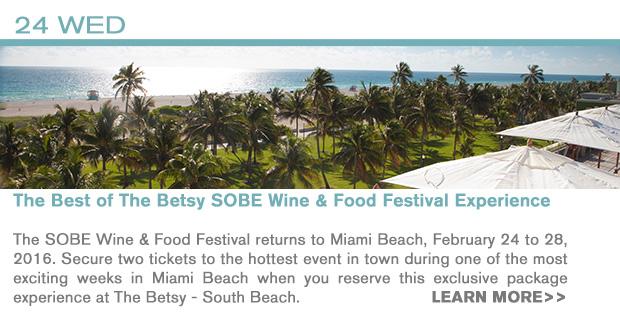 INFO 2/24 - SOBE Wine & Food