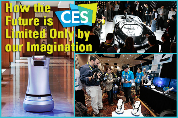 CES 2016: How the Future is Limited Only by our Imagination