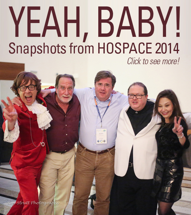 Snapshots from HOSPACE 2014