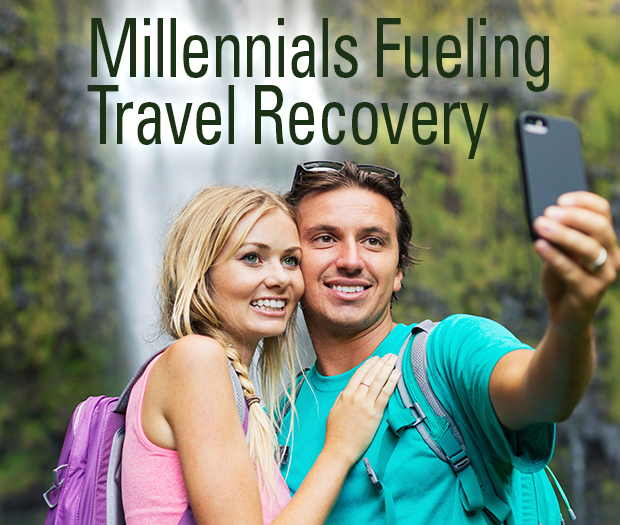 Millennials Fueling Travel Recovery