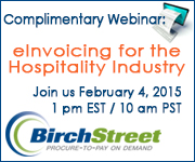 BirchStreet - eInvoicing for the Hospitality Industry