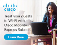 Cisco: Treat Your Guests to Wi-Fi