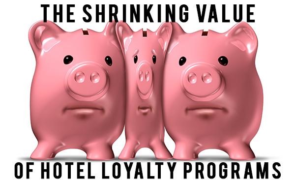 The Shrinking Value of Hotel Loyalty Programs