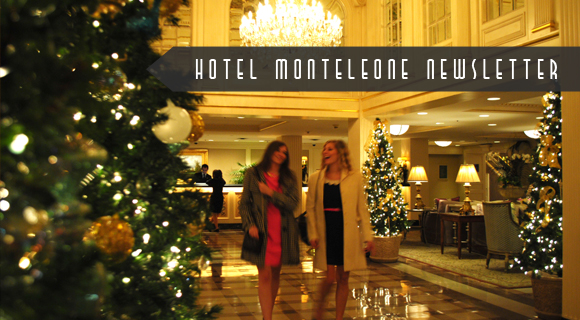Hotel Monteleone Newsletter Cover November 2013