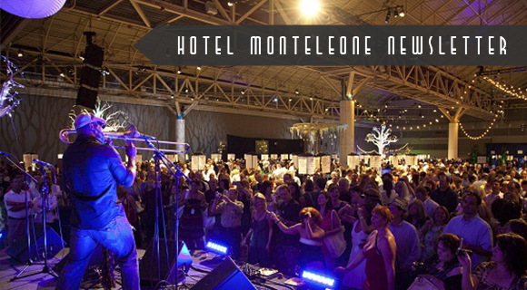 Hotel Monteleone May Newsletter