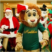Monte the Lion's Children's Holiday Party at Hotel Monteleone New Orleans
