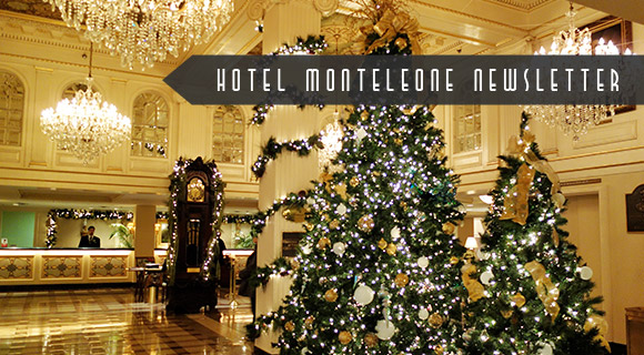 Hotel Monteleone New Orleans Christmas Hotel Lobby