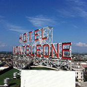 Hotel Monteleone New Orleans Rooftop Sign