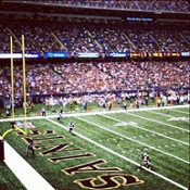 New Orleans Saints Game at the Mercedes-Benz Superdome